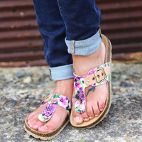 Halcyon Days By Seychelles {Floral}