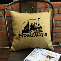 Hogwarts Alumni Harry Throw Pillow Harry potter Throw Pillow cover
