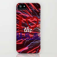 I Love the U.S.A. iPhone & iPod Case by Shawn King