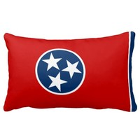 Tennessee flag, American state flag Pillow
