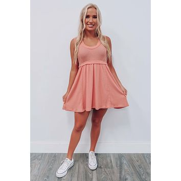 Only You Dress: Peach