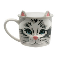 Cat Shaped Mug with Coaster   View All   CathKidston