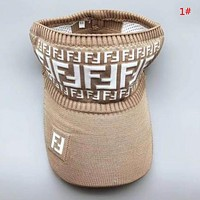 Fendi New fashion more letter hollow cap hat women 1#