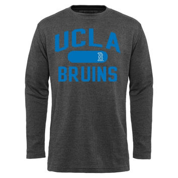 UCLA Bruins Straight Out Long Sleeve Thermal T-Shirt - Charcoal