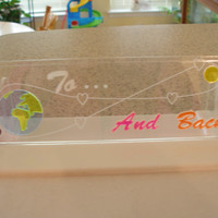 ToThe Moon and Back  decoration  room mood lightable panel only  small panel only