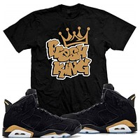 Fresh King Jordan Retro 6 DMP Defining Moments Sneaker Match T-Shirt