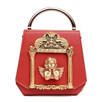 Retro Women bags Ladies shoulder bag Female Bag With Chain Messenger totes bags handbags with big metal Clamps 2017 new