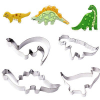 Dinosaur Animal Fondant Cake Cookie Biscuit Cutter Decor Mold Baking Tools EW
