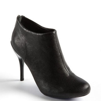Kenneth Cole Reaction Joni Arc Leather Stiletto Ankle Boots