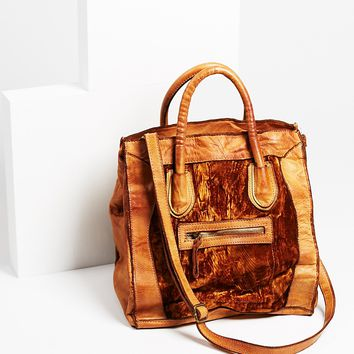 Free People Sunset Leather Tote