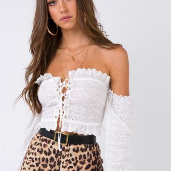 Daisy Mae Off The Shoulder Top