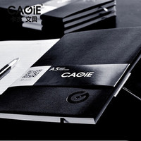 CAGIE A4 A5 Business Meeting Notepad Planner Organizer Agenda Filofax Men Women Office Brown Black Daily Memos Diary Notebook