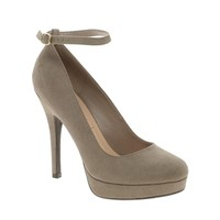 New Look | New Look Shandy Biscuit Ankle Strap Court Shoes at ASOS