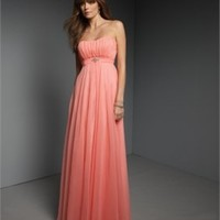 Column Strapless Chiffon Mother of the Bride Dresses MBT094 -Shop offer 2012 wedding dresses,prom dresses,party dresses for girls on sale. #Category#