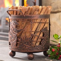 Bear Camp Fatwood Holder With 5 lbs. Fatwood | Fire Starters & Fatwood