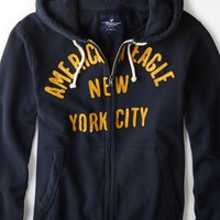 AEO 's Nyc Applique Hoodie