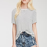 Classic Stripe-Patterned Top