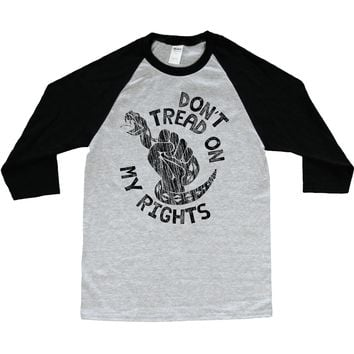 Don't Tread On My Rights -- Unisex Long-Sleeve