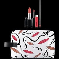 M·A·C Cosmetics | New Collections > Lips > Lip Bag By Rebecca Moses: Nude x3