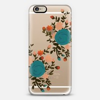 Clear Bouquet iPhone 6s case by OLIVE + JUDE | Casetify