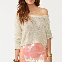 Iridescent Sequin Skirt in  Clothes Bottoms Skirts at Nasty Gal
