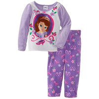 Disney Sofia the First Toddler Girls Fleece Two-Piece Pajamas