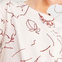 UO Faye Embroidered Tee   Urban Outfitters Canada
