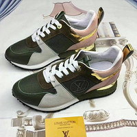 Louis Vuitton Woman Men Fashion Casual Sneakers Sport Shoes