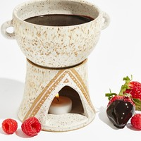Free People Ceramic Fondue Set