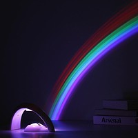 LED Rainbow Projector Room Wall Light