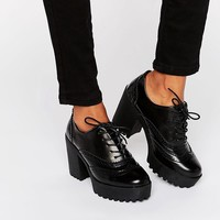 River Island | River Island High Lace Up Chunky Sole Shoe at ASOS