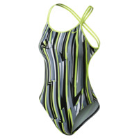 Nike Dynamic Lines Spiderback Women's Tank Swimsuit