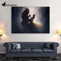 1 Pc Canvas Art Poster Beauty and the Beast HD Canvas Painting Large Canvas Wall Art Home Decor Pictures for Living Room XA1432C