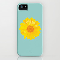Watercolor Sunny Day flower iPhone & iPod Case by Uma Gokhale   Society6