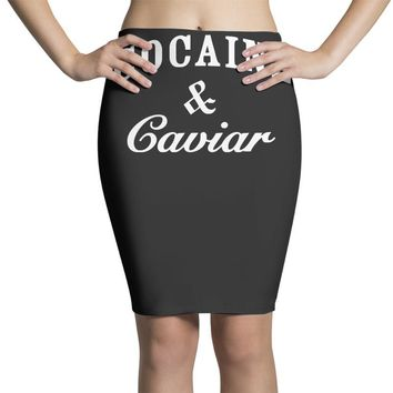 cocaine and caviar   mens hoodie cocain Pencil Skirts