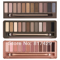 3pcs/lot Wholesale 2015 New NAKE Makeup set 12 Colors palette NK 1 2 3 eyeshadow palettes with brush, Dropshipp-in Eye Shadow from Beauty & Health on Aliexpress.com | Alibaba Group