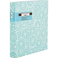 """Martha Stewart Home Office™ with Avery™ 1"""" Heavy Paper Binder, Blue Floral"""