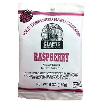 Caeys Raspberry Sugared Hard Candy - Blooms Candy