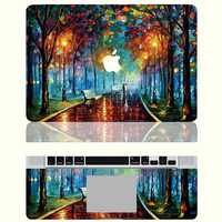 Love in the Rain --Macbook Protective Decals Stickers Mac Cover Skins Vinyl Case for Apple Laptop Macbook Pro/Macbook Air