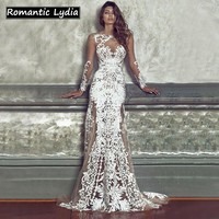 New Arrival 2018 Women Luxury Floral Lace Party Long Dress Summer Vintage Bodycon Sexy Beach Maxi Dress Vestidos Formal Gown