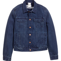 H&M - Denim Jacket - Dark denim blue - Men