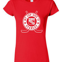 My Cup Size Is Stanley Rangers Tshirt. Rangers Fans!!!!!  Great Fan Shirt Ladies and Unisex Style Shirt.  Makes a Great Gift!!!!!