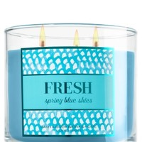 3-Wick Candle Fresh - Spring Blue Skies