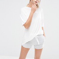 New Look Seam Detail Sporty Tee
