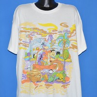 90s Flintstones Bedrock fun Center t-shirt Extra Large