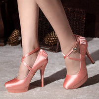 Nice pink shoes