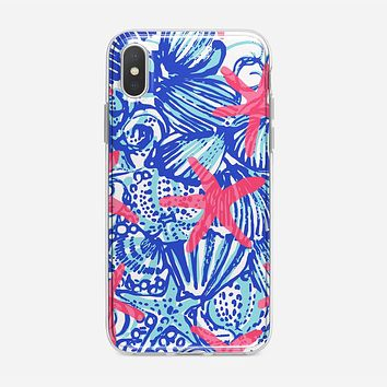 Lilly Pulitzer Monogram iPhone X Case