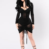 Video Girl Dress - Black