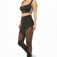 Kikiriki Sheer Mesh Leggings