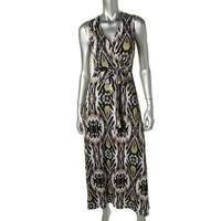 INC Womens Stretch Sleeveless Maxi Dress
